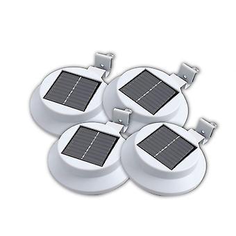 4 X 太陽電源 3 多結晶 LED 屋外壁屋根ソーラー パネル