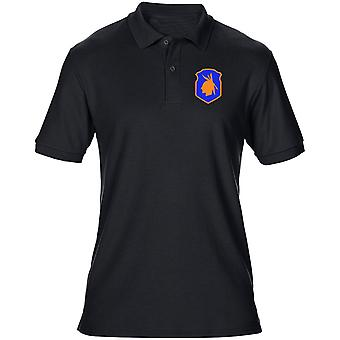 US Army 98th Infantry Division Embroidered Logo - Mens Polo Shirt