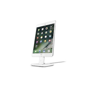 Twelve South HiRise Deluxe 2-Newly refined version with Lightning & Micro-USB Cable-SILVER