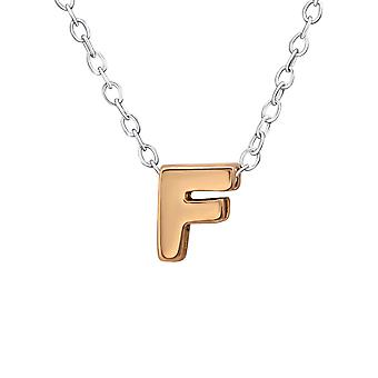 F - 925 Sterling Silver Plain Necklaces - W31028x