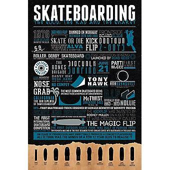 Skateboard Plakat Poster drucken