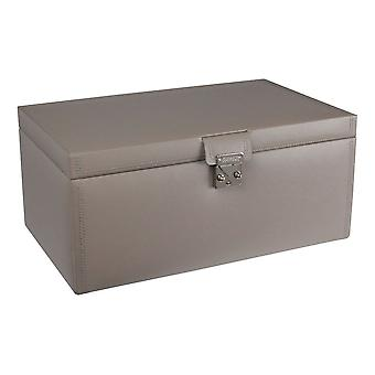 Leather Mink Extra Large Jewellery Box