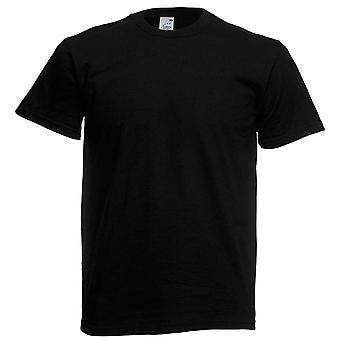 Fruit of Loom Herren Original Plain Baumwolle T Shirt