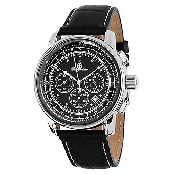 Burgmeister BM332-122 Tessin, Gents watch, Analogue display, Chronograph with Citizen Movement - Water resistant, Stylish leather strap, Classic men's watch