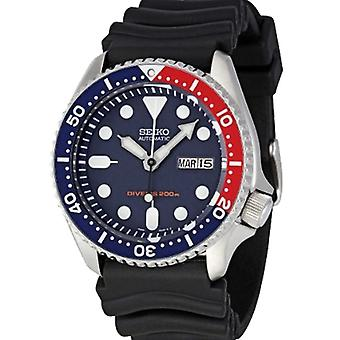 Seiko Divers Automatic Blue Dial Rubber Strap Men's Watch SKX009K1