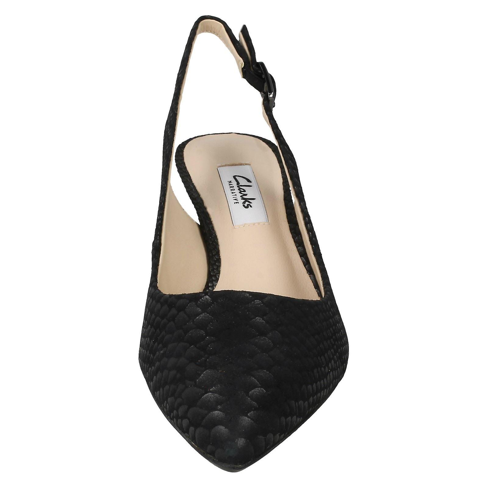 Mesdames Clarks chaton talon talon talon chaussures Smart aquifère Belle | Grand Assortiment  659205