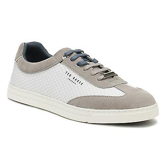 Ted Baker Mens Light Grey Phranco Trainers
