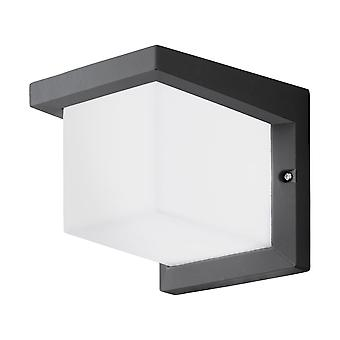 Eglo Desella 1 LED Exterior Wall Light In Anthracite