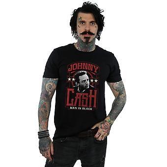 Johnny Cash Men's Man In Black T-Shirt