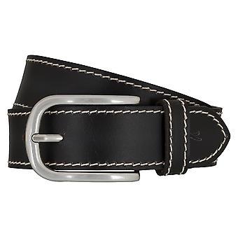 BRAX belts men's belts leather belt black 6575