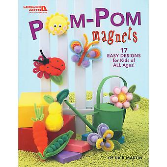 Leisure Arts-Pom-Pom Magnets