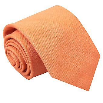 Light Orange Ottoman Wool Classic Tie