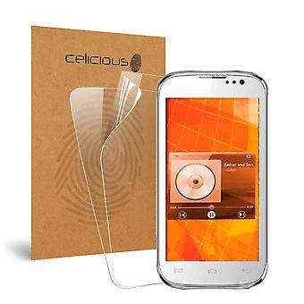 Celicious Vivid Invisible Glossy HD Screen Protector Film Compatible with Micromax A30 Smarty 3.0 [Pack of 2]