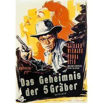 Poster di film di contraccolpo (11 x 17)