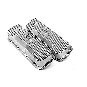 Holley 241-84 M/T Polished Valve Cover for BB Chevy