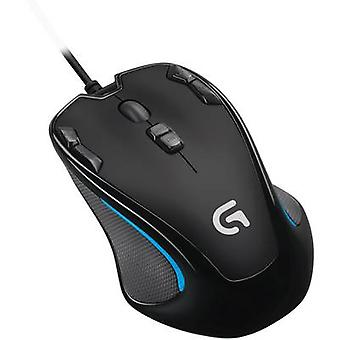 Logitech Gaming G300s USB gaming mouse Optical Built-in user memory Black