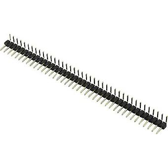 Connfly Pin strip (standard) No. of rows: 1 Pins per row: 40 1390123 1 pc(s)