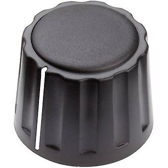 Mentor 4332.4001 Control knob + hand Black (Ø x H) 20 mm x 15 mm 1 pc(s)