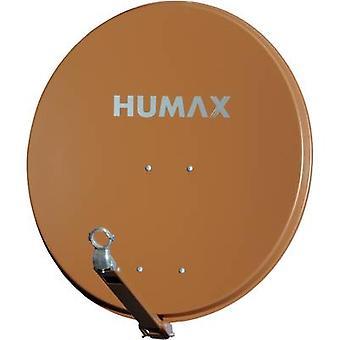 Humax 90 Pro SAT antenne 90 cm reflecterend materiaal: Aluminium baksteen rood