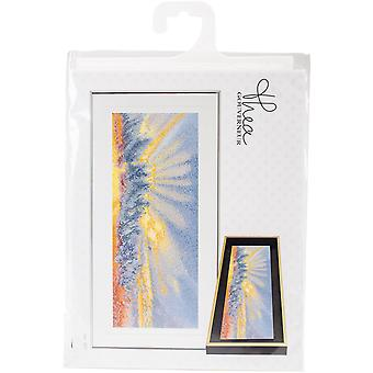 Sky Study VII On Aida Counted Cross Stitch Kit-5.75