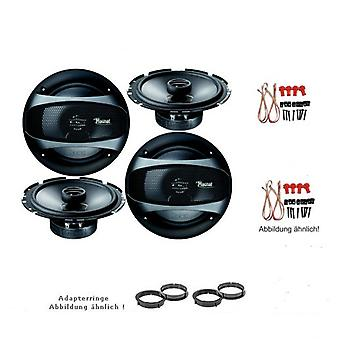 Citroen C3 Picasso, speaker Kit, door front and rear