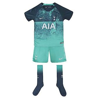 2018-2019 Tottenham tercer Nike Little Boys Mini Kit
