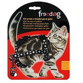 Freedog Harness Kit + handle cats (Cats , Collars, Leads & Harnesses , Harnesses & Leads)