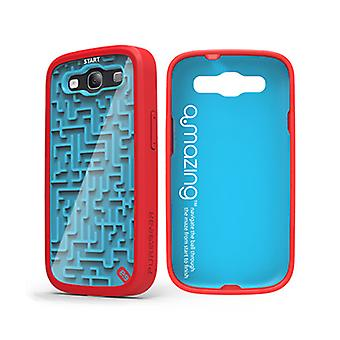 Puregear Gamer Case A-Maze-Ing for Samsung Galaxy S3 (Blue/Red) - 60090PG