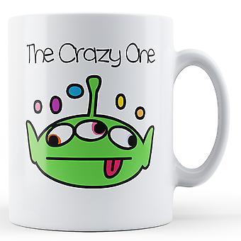 Decorative Writing The Crazy One - Printed Mug
