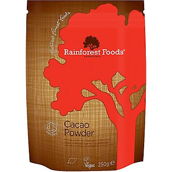 Rainforest Foods, Organic Peruvian Cacao Powder, 250g