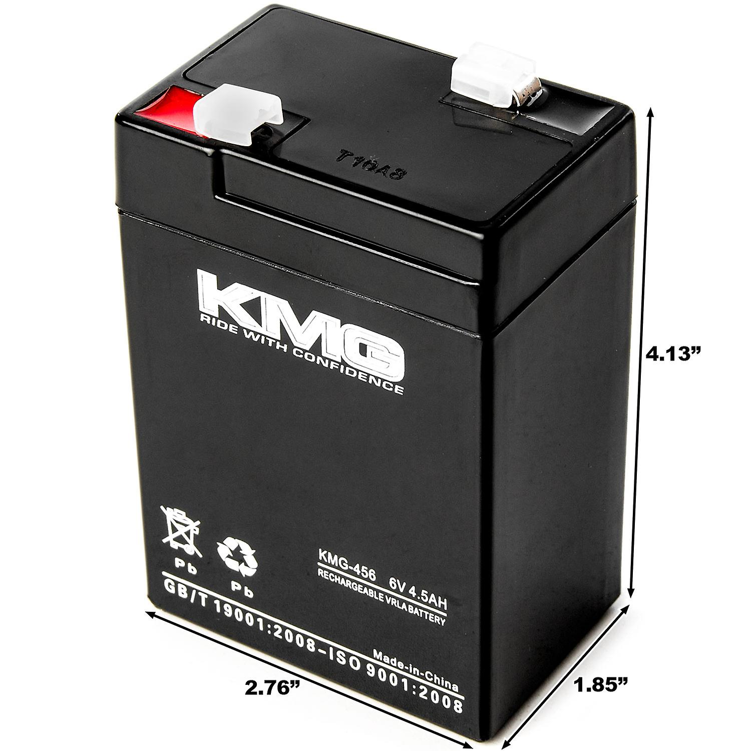 KMG 6 Volts 4 5Ah Replacement Battery for Sola UPS/2500A