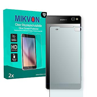Sony Xperia C5 Ultra Screen Protector - Mikvon Clear (Retail Package with accessories)