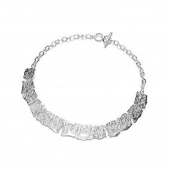 Cavendish Franse zilveren elkaar grijpende ketting