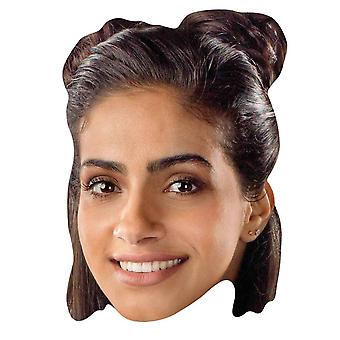 Yasmin Khan from 13th Doctor Who Official Single 2D Card Party Face Mask