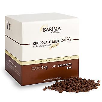 Barbara Barima Vollmilch Schokolade Späne 34 %