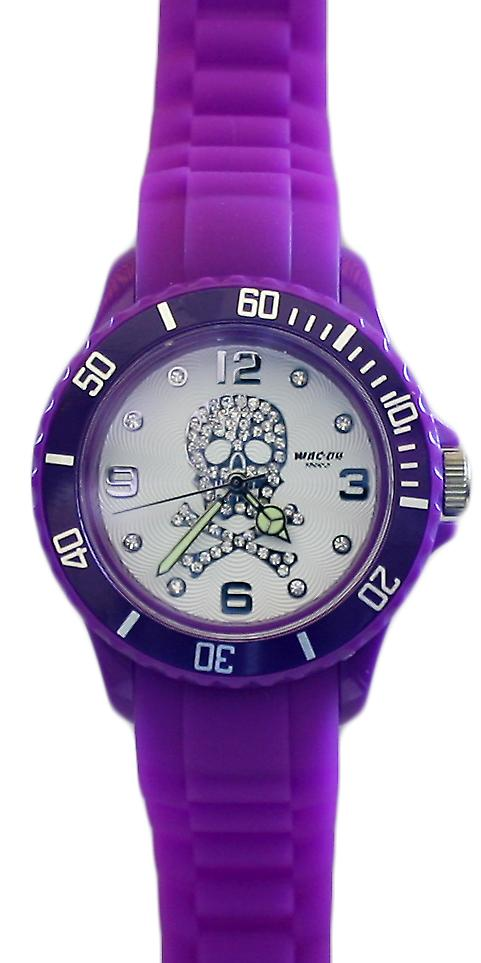 Waooh - shows skull 38 purple Silicone