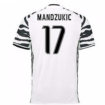 2016-17 Juventus 3rd Shirt (Mandzukic 17)
