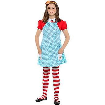 Famous Five Anne Costume, Enid Blyton Fancy Dress, Large Age 10-12