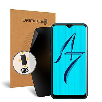 Celicious Privacy Plus 4-Way Anti-Spy Filter Screen Protector Film Compatible with OPPO A7