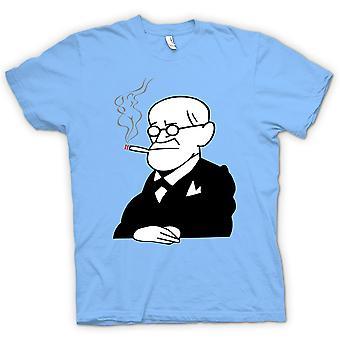 Camiseta para hombre - Sigmund Freud - psicología - dibujos animados