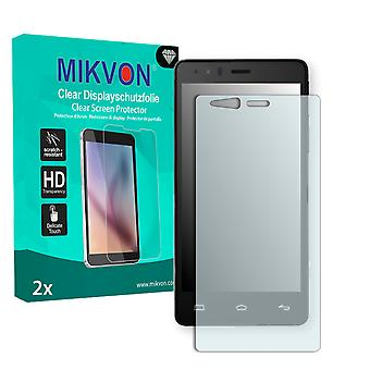 BQ Aquaris E5 Screen Protector - Mikvon Clear (Retail Package with accessories)