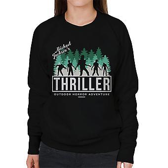 Michael Jackson Thriller Outdoor Horror Adventure Women's Sweatshirt