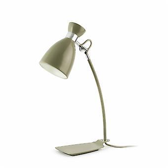 Faro - Retro olivgrön skrivbord lampa FARO20004