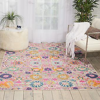 Passion Nourison PSN01 Silver  Rectangle Rugs Funky Rugs
