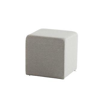 Taste 4SO Crea poef upholstery 43x43xH43 cm - grijs