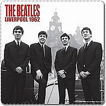Beatles Liverpool 1962 drinks mat / coaster (ro)