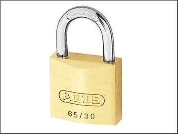 ABUS 65/30 30mm Brass Padlock Keyed 6306
