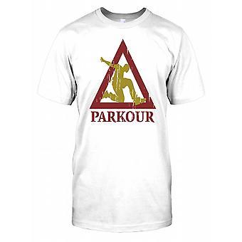 Parkour Free Running Kids T Shirt