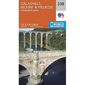 Galashiels - Selkirk and Melrose by Ordnance Survey - 9780319245903 B