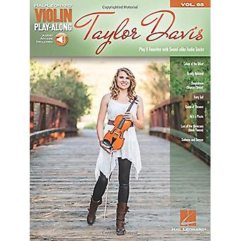 Violin Play-Along - Taylor Davis (Book/Online Audio) - Volume 65 - 9781